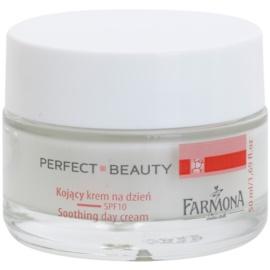Farmona Perfect Beauty Capillary Skin zklidňující denní krém proti zarudnutí SPF 10  50 ml