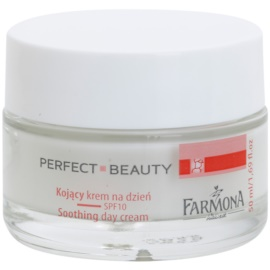 Farmona Perfect Beauty Capillary Skin Creme de dia calmante para a vermelhidão SPF 10   50 ml