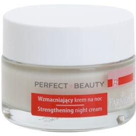 Farmona Perfect Beauty Capillary Skin Beruhigende Nachtcreme für empfindliche Haut mit der Neigung zum Erröten  50 ml