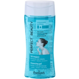Farmona Perfect Beauty Make-up Remover Gel zum abschminken für alle Hauttypen  200 ml