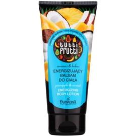 Farmona Tutti Frutti Pineapple & Coconut poživitveno mleko za telo  200 ml