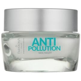 Farmona Anti Pollution Antioxidant-Nachtcreme mit regenerierender Wirkung  50 ml