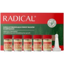 Farmona Radical Hair Loss stärkendes Serum für das Wachstum der Haare und die Stärkung von den Wurzeln heraus  5 x 5 ml