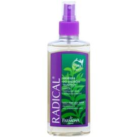 Farmona Radical Oily Hair bezoplachová vlasová péče pro výživu a hydrataci  200 ml