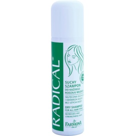Farmona Radical All Hair Types suchý šampon pro posílení vlasů  150 ml