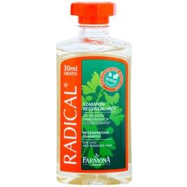 Farmona Radical Coloured Hair champô regenerador para cabelo danificado e pintado  330 ml
