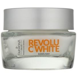 Farmona Revolu C White bleichende Tagescreme zur Vereinheitlichung der Hautfarbe SPF 30  50 ml