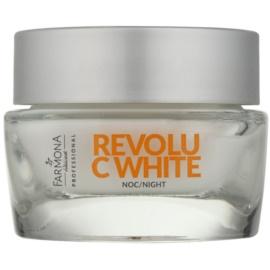 Farmona Revolu C White noční obnovující krém proti pigmentovým skvrnám  50 ml