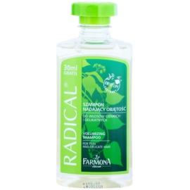 Farmona Radical Thin & Delicate Hair posilující šampon pro objem  330 ml