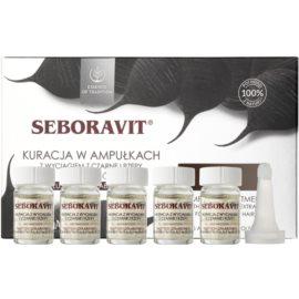Farmona Seboravit bezoplachová péče pro oslabené a mastné vlasy  5 x 5 ml