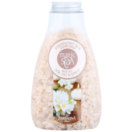 Farmona Magic Spa Jasmine Dream sales de baño  para dejar la piel suave y lisa  495 g