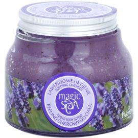 Farmona Magic Spa Soothing Lavender cukrový peeling na tělo  200 g