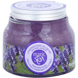 Farmona Magic Spa Soothing Lavender Zucker-Peeling für den Körper  200 g