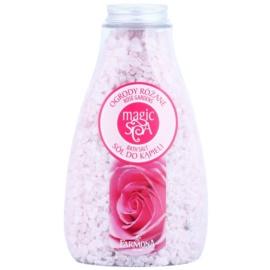 Farmona Magic Spa Rose Gardens kristályos fürdősó virág illattal  495 g