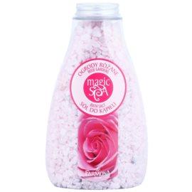 Farmona Magic Spa Rose Gardens kryštalická soľ do kúpeľa s vôňou kvetín  495 g