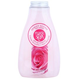 Farmona Magic Spa Rose Gardens gel de dus si baie cu arome florale  425 ml