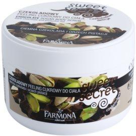 Farmona Sweet Secret Chocolate cukrový peeling na tělo  225 g