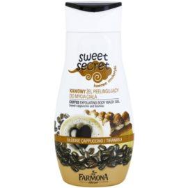 Farmona Sweet Secret Coffee gel de ducha exfoliante  225 ml
