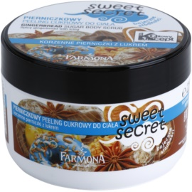 Farmona Sweet Secret Gingerbread cukrový peeling  225 ml