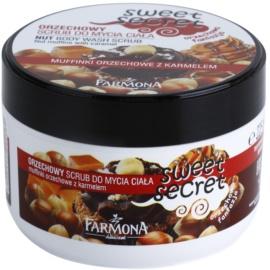 Farmona Sweet Secret Nut цукровий пілінг Nut Muffins with Caramel  225 мл