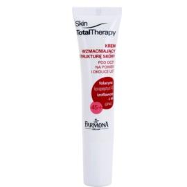 Farmona Skin Total Therapy festigende Creme für tiefe Falten an Augen und Lippen 45+ 15 ml