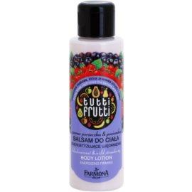 Farmona Tutti Frutti Blackcurant & Wild Strawberry testápoló tej  100 ml