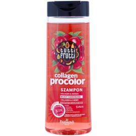 Farmona Tutti Frutti Collagen Procolor šampon pro barvené vlasy  400 ml