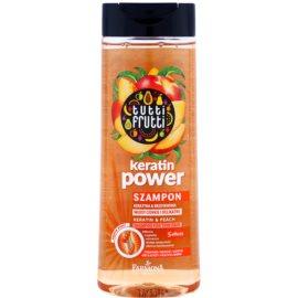 Farmona Tutti Frutti Keratin Power szampon do włosów delikatnych  410 ml
