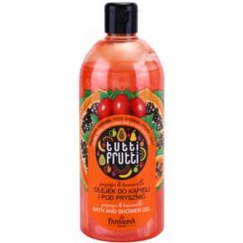 Farmona Tutti Frutti Papaja & Tamarillo sprchový a koupelový gel  500 ml
