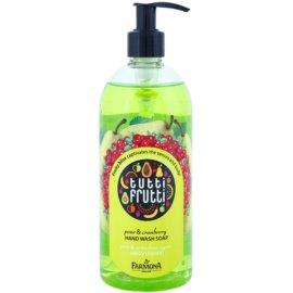 Farmona Tutti Frutti Pear & Cranberry tekuté mydlo na ruky  500 ml