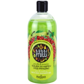 Farmona Tutti Frutti Pear & Cranberry gel de ducha   500 ml