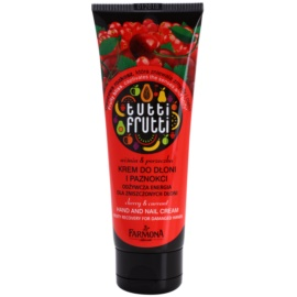 Farmona Tutti Frutti Cherry & Currant krem do rąk i paznokci  100 ml