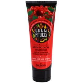 Farmona Tutti Frutti Cherry & Currant kéz- és körömápoló krém  100 ml