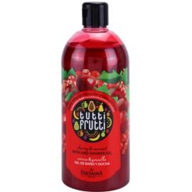 Farmona Tutti Frutti Cherry & Currant sprchový a kúpeľový gél  500 ml