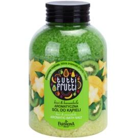 Farmona Tutti Frutti Kiwi & Carambola sůl do koupele  600 g