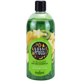 Farmona Tutti Frutti Kiwi & Carambola gel za prhanje in kopanje  500 ml