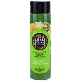 Farmona Tutti Frutti Kiwi & Carambola krémový sprchový peeling  250 ml