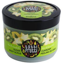 Farmona Tutti Frutti Kiwi & Carambola Zucker-Peeling für den Körper  300 g
