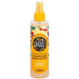 Farmona Tutti Frutti Peach & Mango Hidratante corporal nutritivo e de suavização com particulas brilhantes  200 ml