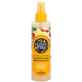 Farmona Tutti Frutti Peach & Mango trblietavá telová hmla s vyhladzujúcim a vyživujúcim účinkom  200 ml