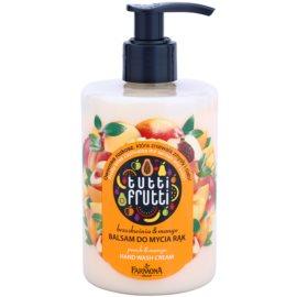Farmona Tutti Frutti Peach & Mango bálsamo de limpeza para mãos  315 ml