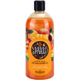 Farmona Tutti Frutti Peach & Mango Shower And Bath Gel  500 ml