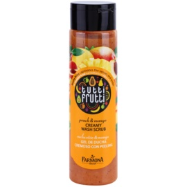 Farmona Tutti Frutti Peach & Mango krémový sprchový peeling  250 ml