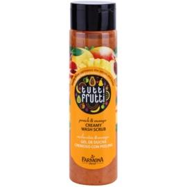 Farmona Tutti Frutti Peach & Mango Creme-Peeling für die Dusche  250 ml