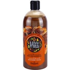 Farmona Tutti Frutti Caramel & Cinnamon sprchový a kúpeľový gél  500 ml