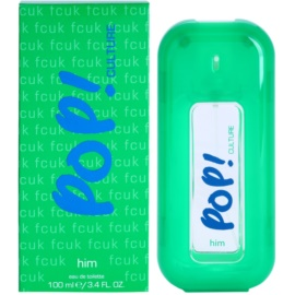 Fcuk Pop! Culture Eau de Toilette for Men 100 ml