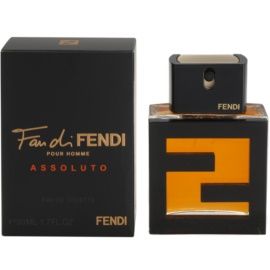 Fendi Fan di Fendi Pour Homme Assoluto Eau de Toilette für Herren 50 ml