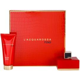 Fendi L'Acquarossa set cadou I.  Eau de Parfum 50 ml + Lotiune de corp 75 ml