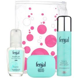 Fenjal Classic dárková sada III. deodorant ve spreji 150 ml + deodorant s rozprašovačem 75 ml + mýdlo 100 g
