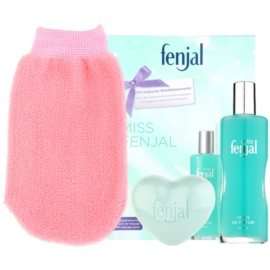 Fenjal Miss Classic set cadou I.  loțiune de corp 100 ml + sapun de baie 90 g + mânuși  masaj